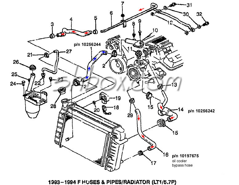 Ls Oil Cooler Diagram