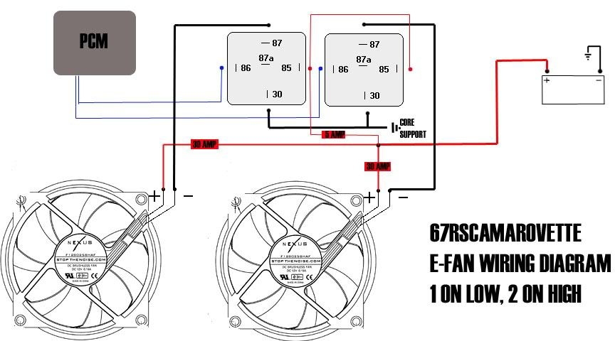 wiring one fan off the stock PCM and harness. - LS1TECH ... on car fan wiring diagram, car fan shroud wiring, car alternator wiring, car fan relay diagram, car voltage regulator wiring,