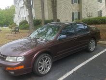 my 1 owner 1998 maxima 3.0 5 speed