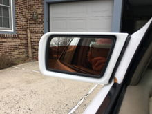 1999 E300 mirror showing me taking the picture.