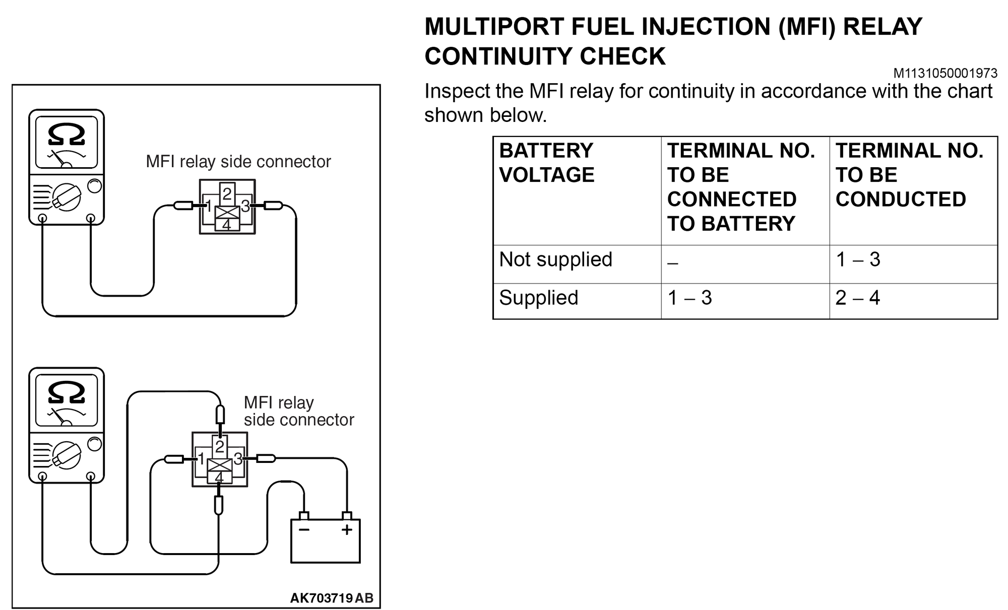 2014 Outlander Sport No-start  Fuel Pump Wiring - Mitsubishi Forum