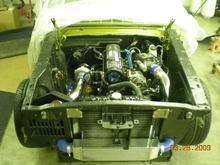 GT140T (66 mustang/SVO 2.3 Turbo)