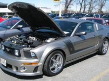 my car at gburg car show 4-4-09