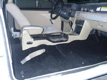 Used center console