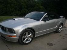 '09 Brilliant Silver GT Premium Convertible