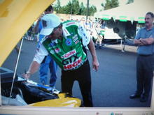 John Force signed 24k