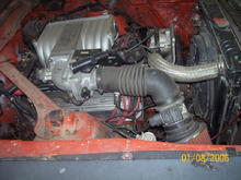 explorer intake,electric fan,fuel injected on a budget can u say  . . .$$300.00