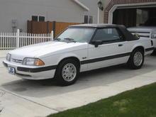 1990 5.0 LX convertible