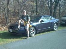 My second (and best) Mustang....2001 True Blue Bullitt