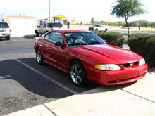 My most recent, 1998 'Stang