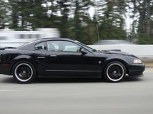 On the freeway...headin' home from 2010 Annual Mustangs Northwest Roundup in Bellevue, Washington    Jabbers pic