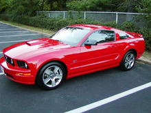 2007 Ford Mustang  GT Before