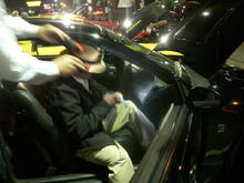 Jack Roush signing my dash, very excited to meet him!
