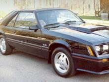 1982 Mustang GT