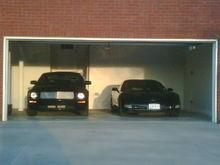 2008 S197 GT/ 2003 C5 Corvette in garage!!