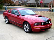 2008 Mustang GT - Dark Candy Apple Red Clearcoat Metallic