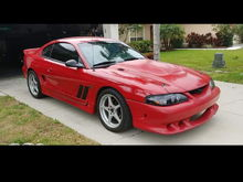 Is this a hood option on a 98 saleen?
