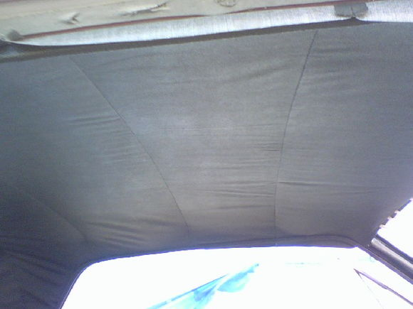 putting the headliner in