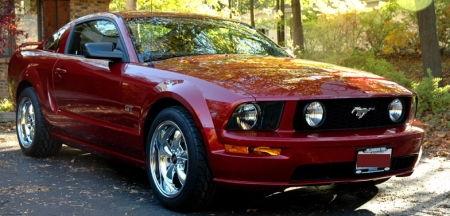 Jeff's Mustang