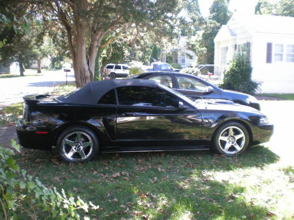 supercharged 2003 Mustang GT