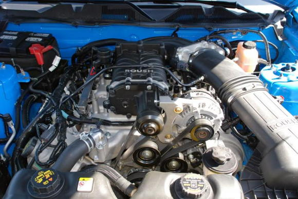 Roush M90 Supercharger Kit (435 HP, 400 Ft-Lb)