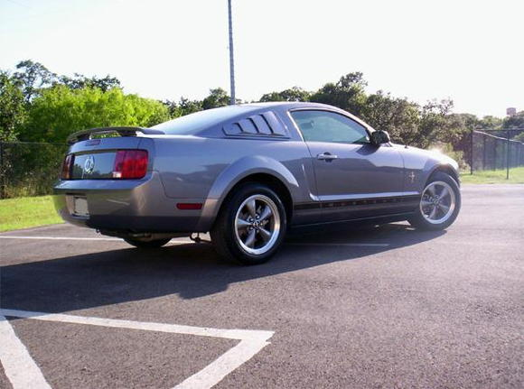 In June of 2007, I had the same local dealership provide and install Roush quarter window louvers on my car.