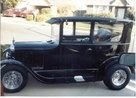 1926 Ford Sedan,    Street Rod