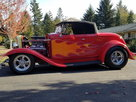 1932 Ford Roadster Full Fender Street Rod SUPER