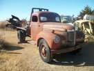 1947 KB5 IHC International winch truck rat rod