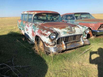 55 Chevy Wagon
