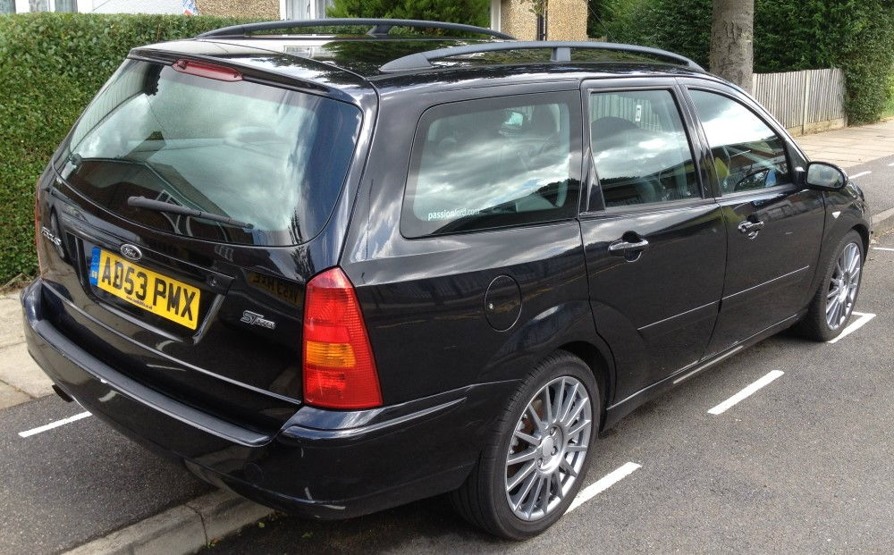 "ST170 Rare Estate ""Panther Black"" - PassionFord - Ford ..."