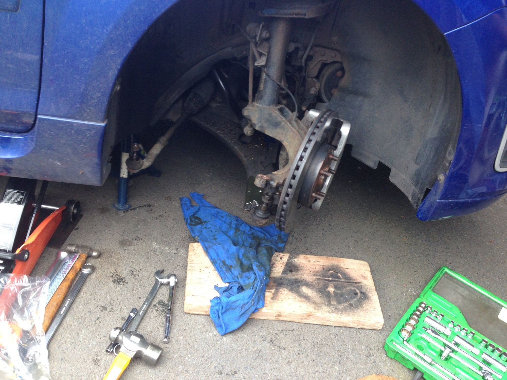 Focus St 2 5 off side drive shaft replacement DIY also covers inner