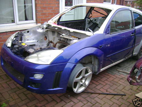 focus rs cosworth in the making