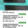 TREND PERFORMANCE BBC PUSHRODS T8851353 / T9751353 Chrome Mo  for sale $200