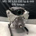 MTI 36 LS3 535hp & 449 ft./lb. torque