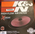 """K&N 16"""" top flow"""