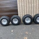 """8""""golf cart wheels"""