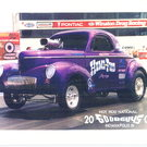 1941 Willys Coupe B/Gas