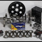 """383 ASSEMBLY SCAT CRANK 6"""" RODS WISECO +4cc DOME 030 1P"""