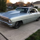 1967 Nova Big Tire Tube Chassis Car