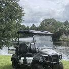 2019 Yamaha UMax One Gas Golf Cart 2 Passenger with Dump Bed