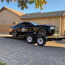 2011 Mustang GT and trailer