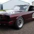1965 mustang fastback road race car