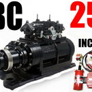 BIG BLOCK CHEVY BLOWER SHOPSUPERCHARGER 250 BLACK 2V 3120