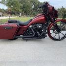 Trade for rolling dragster 09 Harley Davison street glide&nb