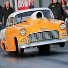 1955 Chevy doorslammer Bel Air Chevrolet Drag Racing