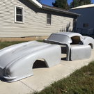 New 58 Corvette Fiberglass Body