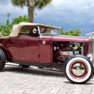 1932 Ford Deuce Roadster Highboy [Glass Body]