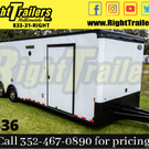 2020 8.5 x 30 Continental Cargo Race Trailer