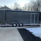 2019 inTech 26 foot iCon Enclosed Trailer with Rail Ryder lo
